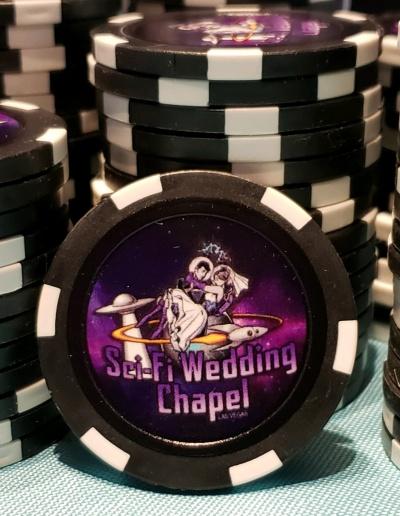Chapel Poker Chip