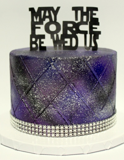 May the Force Cake